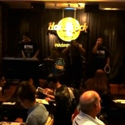 Cruddy Crankerz Make Go-Go Noise at the Hard Rock Cafe Battle of the Bands