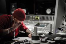 Ne-Yo Writing in the Studio